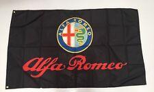 Alfa Romeo Banner Flag - Car Turbo Sedan Spider Hatch Mechanic Workshop Man Cave