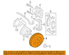 GM OEM Front Brake-Disc Rotor 19303832