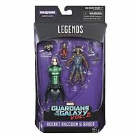 ROCKET RACCOON BABY GROOT GUARDIANS OF GALAXY VOL. 2 Marvel Legends baf MANTIS