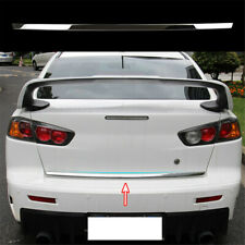 Tailgate Lid Cover Trim For Mitsubishi Lancer Door Strip Sticker Styling