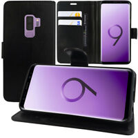 "Housse Etui Coque Portefeuille Video Cuir PU pour Samsung Galaxy S9 Plus 6.2"""