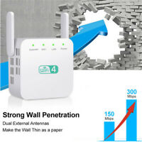 WLAN Repeater Router 2,4/5Ghz 300 Mbit / s WI-FI Verstärker Extender Dualband