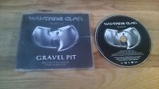 CD HipHop Wu-Tang Clan-Gravel Pit (4) canzone MCD Sony Epic SC
