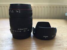 Sigma 28-300mm f/3.5-6.3 DG Macro lenti Canon Fit