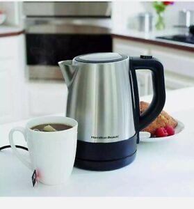 Hamilton Beach Electric Tea/Coffee Kettle New Unopened Box Perfect Gift