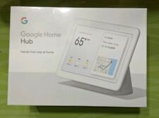 "Google Home Hub with Google Assistant Smart 7"" Display - Chalk Grey Brand New"