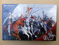 MOUNTED AGINCOURT KNIGHTS! Perry Miniatures, Wargames, 28mm **3 MODELS**