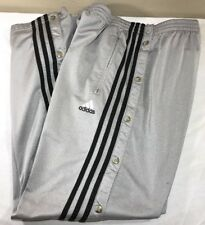 Vtg Adidas Track Pants Equipment Tear Away Firebird Men's Large 90's Trefoil