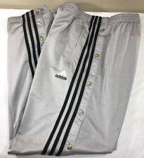 Vintage Adidas Track Pants Equipment Tear Away Firebird Men's Large Trefoil