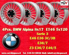 4 Cerchi BMW Alpine Style 8x17 ET46 5x120 3 Z3 3er Wheel Felge Llanta Jante TÜV