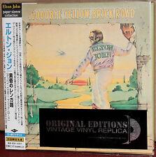 JAPAN Made CD UICY-9107: ELTON JOHN - Goodbye Yellow Brick Road, OBI 2001 OOP SS