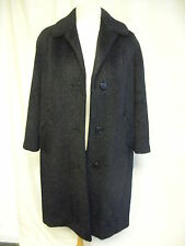 "Ladies Coat black mohair, bust 38-40"", length 38"", custom made, very good 2190"