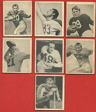1948   BOWMAN   LOT  TOTAL  OF  13   FOOTBALL  CARDS   !!