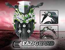 Eazi-Guard™ Kawasaki Z1000SX 2014-2016 Motorbike Stone Chip Protection Kit