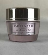 Estee Lauder Resilience Lift Firming/Sculpting Face&Neck Creme .5 Oz. - 8 PIECES