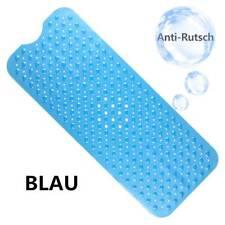 Blaue Wanneneinlage Anti Rutsch Badewannenmatte KIESELOPTIK 99x39cm
