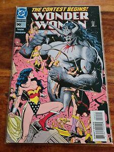 WONDER WOMAN VOL 2 #90 1ST ARTEMIS APPEARANCE / DC COMICS UNIVERSE COMIC