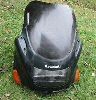 Kawasaki Ninja ZX11 zx-11 D zx1100 Front Plastic Fairing Upper Cowl headlight 96