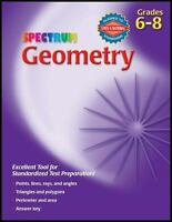 Spectrum Geometry, Grades 6-8 by  , Paperback