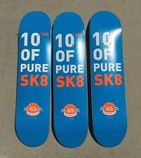 """LOT OF 3 S3 skateboard deck 7.375"""" great deal quality NICE PRICE BARGAIN"""