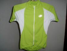 Women s Performance Elite Short Sleeve Full-Zip Cycling Jersey Sz Small Lime e21049862