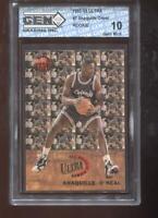 Shaquille O'Neal RC 1992-93 Fleer Ultra All-Rookie #7 HOF GEM MINT 10