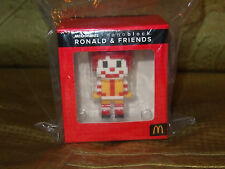 New HK MCDONALDS MCDONALD x nanoblock Roald & Friends Red Stand Toys