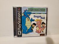 Dragon Tales: Dragon Seek Sony PlayStation 1 PS1 COMPLETE Manual Damaged