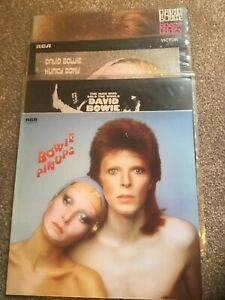 DAVID BOWIE JOBLOT 4 X VINYL ALBUMS