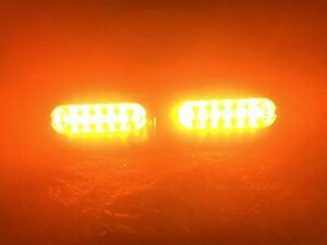 WHELEN LFL LIBERTY PATRIOT 500 SERIES LIN6 SUPER LED LIGHTS AMBER 💛💛