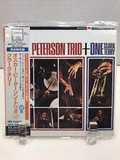 New Rare Peterson Trio + One Clark Terry Remastered Liimited Edition Import