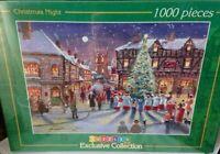 Gordon Lees Christmas Night 1000 Piece Jigsaw Puzzle Inc Puzzle Glue New Sealed