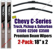 Wipers 2pk Premium - fit 1988-2000 Chevrolet Chevy C1500 C2500 C3500 - 19180x2