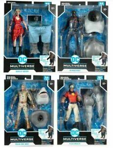 DC Build-A Wave 5 The Suicide Squad Movie Action Figure Case Full Set