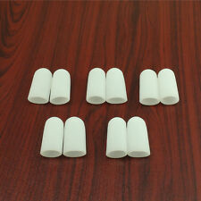 Silicone 10Pcs Gel Toe Tube Caps Foot Corns Remover Blisters Toe Protector  DJ8
