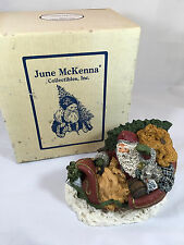 Limited Edition Signed June McKenna SANTA AND HIS MAGIC SLEIGH 1319/4000