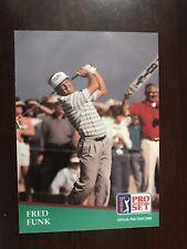1991 Pro Set #54 - Fred Funk (RC) - Golf