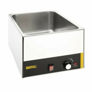 Wet Heat Bain Marie / Hot Towel Warmer for Barber Shop (Pan and lid inc)