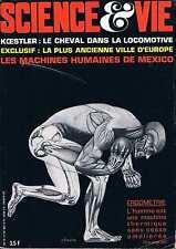 Science Et Vie   N°614  nov 1968:Koestler Plus ancienne ville d'europe Les machi