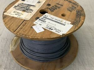 300-Feet Alpha Wire 5016C 6 Conductor Multi-Conductor Cable Slate 24 AWG