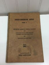 Anglo-American China Part 1 Vintage 1954 I 24263