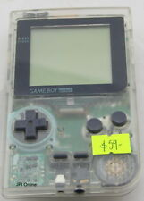 Gameboy Pocket Clear