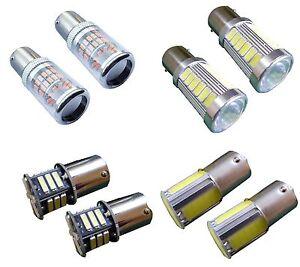BA15S 12V 24V White LED Sidelight Indicator Car Light Bulb 1156 P21W G18.5 S25