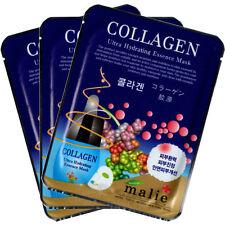 Collagen Essence Mask Sheet Facial Moisture Face Pack Skin Care Anti-Aging 3pcs