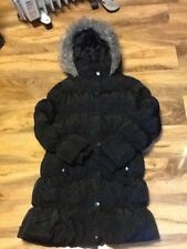 Next Girls Black Coat Aged 9-10 Years Old