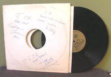 "The Egyptian Lover ""Egypt"" 12"" OOP Autograph Twilight 22 Rodney O & Joe Cooley"