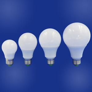 E27 LED Light Bulb 3W 5W 7W 9W Ceiling Globe Lamp 12~24V/85~265V No Flicker #T