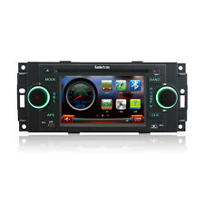 US Autoradio GPS Navigation Stereo DVD for Jeep Wrangler Chrysler 300C Dodge Ram