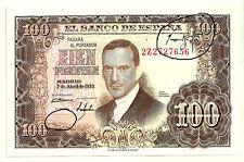 BILLETE DE 100 PESETAS DE 1953 (EBC) JULIO ROMERO DE TORRES (SERIE 2Z) ERROR