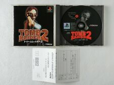 TOMB RAIDER 2 II PS1 VICTOR Sony Playstation From Japan